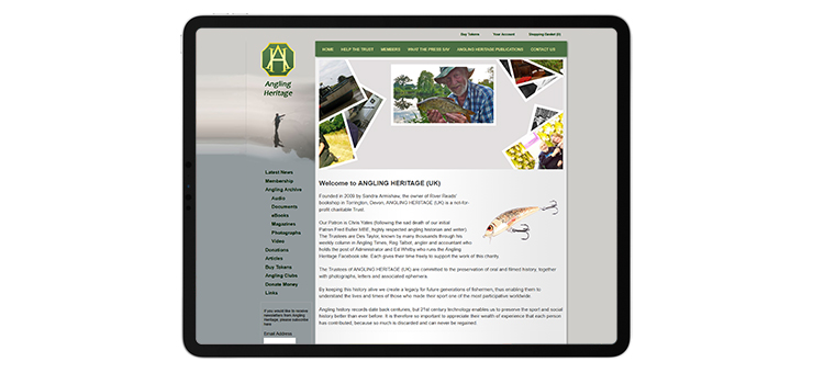 Angling Heritage website